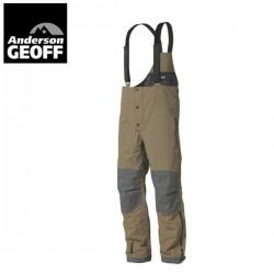 Spodnie Geoff Anderson Zebu 3 szaro-brązowe rozm. L